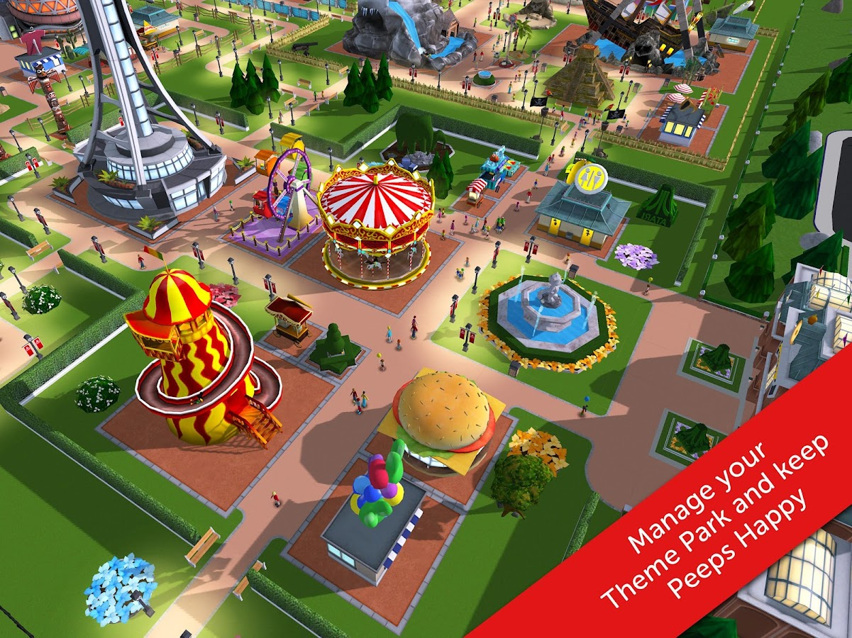 RollerCoaster Tycoon Touch Screenshot 5