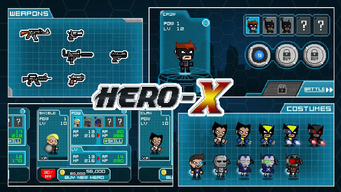 HERO-X Screenshot 4