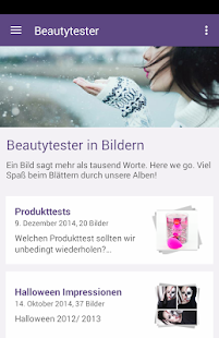 beautytester.de - screenshot