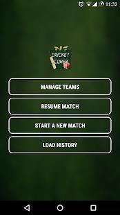 App Cricket Scorer apk for kindle fire