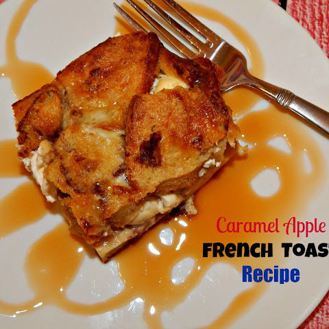 Caramel Apple French Toast Strata