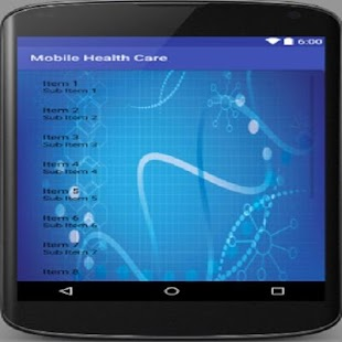 MobileHealthCare - screenshot