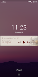 Listen Audiobook Player Screenshot