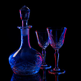 Midnight Sonata by Rakesh Syal - Artistic Objects Glass (  )