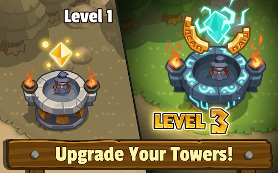 Realm Defense: Fun Tower Game APK screenshot thumbnail 13