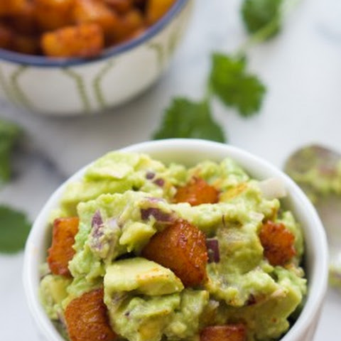 Chile Lime Chicken Tacos with Pineapple Guacamole