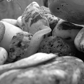 Cornish Beach Pebbles by Angie Keverne - Nature Up Close Rock & Stone ( nature, sea, pebbles, beach, rocks, cornwall )