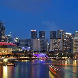 Marina Bay by Koh Chip Whye - City,  Street & Park  Skylines (  )