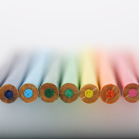 Prismacolor by Jean Photo-Vigneault - Abstract Macro