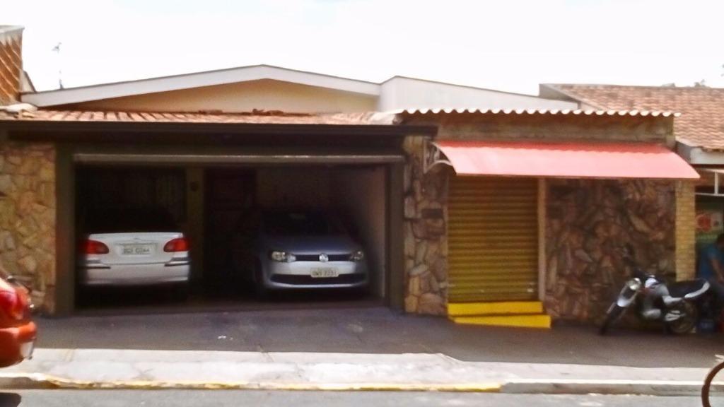 Casa residencial e comercial  à venda, Parque das Andorinhas, Ribeirão Preto.