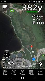 Golf GPS Rangefinder & Sco