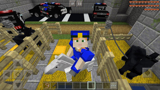 Prison crime getaway– MCPE map For PC