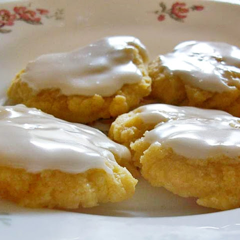 Lemon Iced Butter Cookies