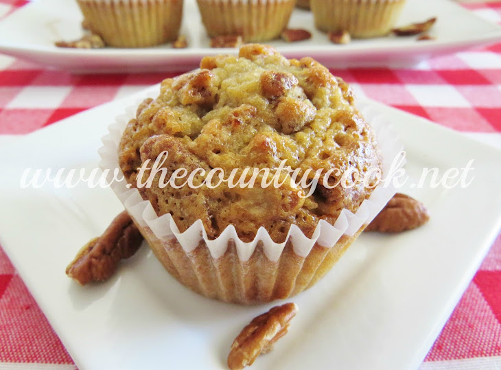 Southern Pecan Pie Muffins Recipe | Yummly