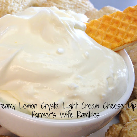 Lemon Cream Cheese Dessert Dip
