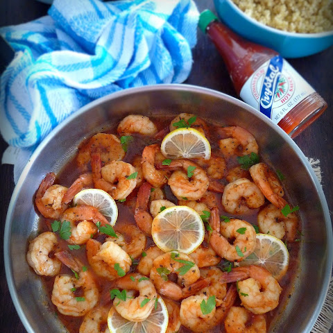 Easy Fiery Lemon Shrimp
