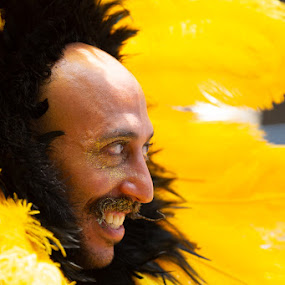 Sunflower by VAM Photography - People Street & Candids ( culture, nyc, pride parade, man, parade, costume )
