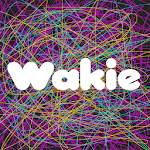 Wakie Community: Talk to People, Chat Icon