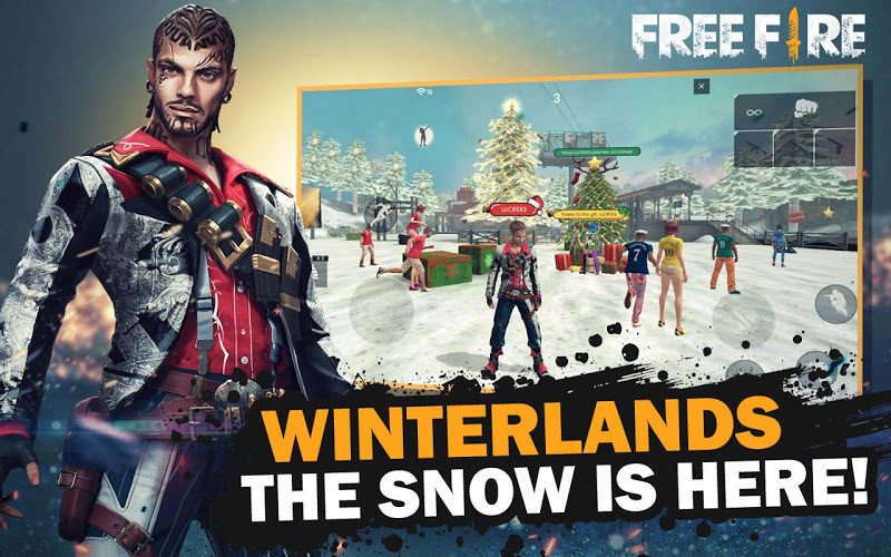Garena Free Fire – Winterlands Screenshot 1