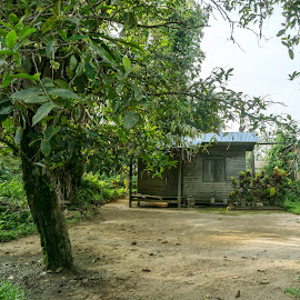 Small Village House by Wan Azizi WS - Buildings & Architecture Homes ( interior, village, poverty, clean yard, small house, house )