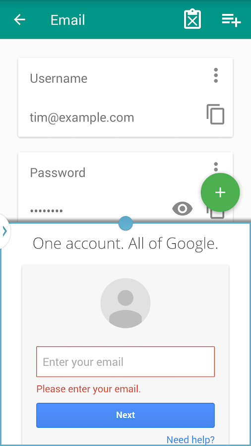 Palisade Password Manager Screenshot 6