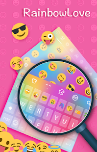 App Rainbow Love Emoji Keyboard 3.3.5 APK for iPhone