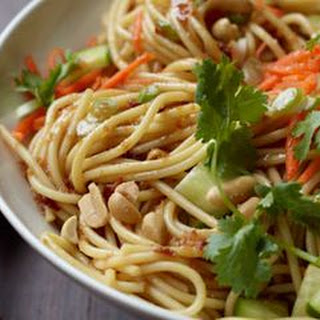 Cold Asian Sesame Noodle Salad Recipes
