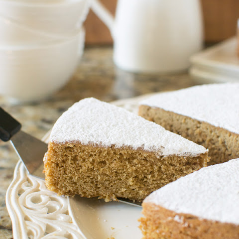 Coffee and Brown Sugar Cake