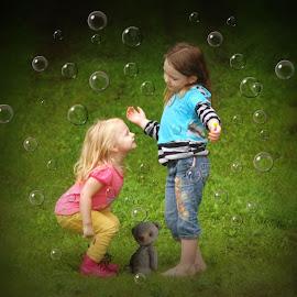 Bubbles & Bears by Cheryl Korotky - Babies & Children Children Candids