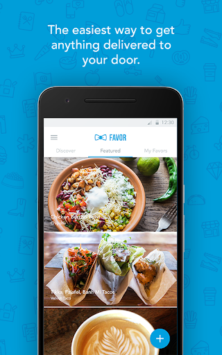 Favor Delivery, Get Food Fast For PC