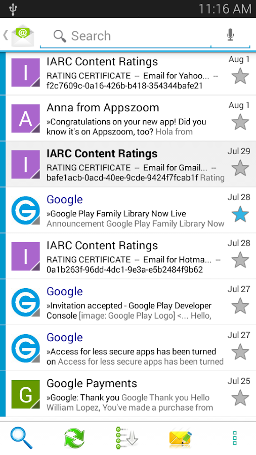Email App - All Mails Pro Screenshot 3