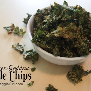 Green Goddess Kale Chips