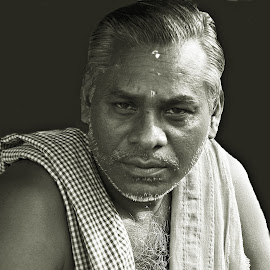 Hari Bhaina by Prasanta Das - People Portraits of Men ( hindu priest, portrait )