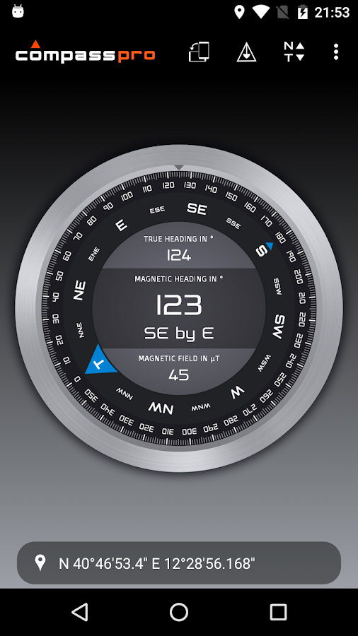 Compass Pro Screenshot 5
