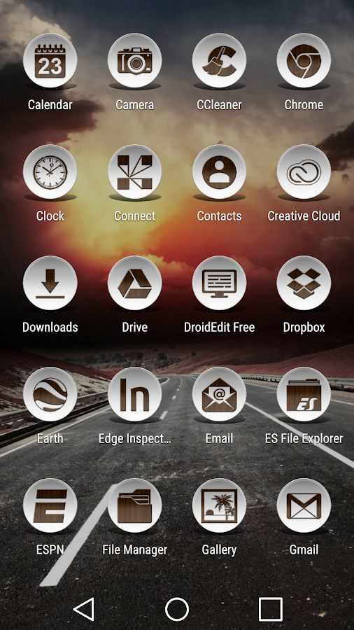 Daf Dark Wood - Icon Pack Screenshot 2