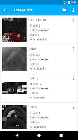 TXD Tool Screenshot