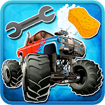 Monster Truck Wash And Repair 4.0.0 Apk