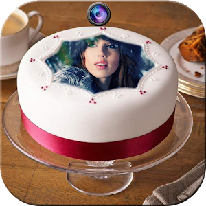 Photo On Birthday Cake