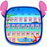 Pink Monster Keyboard Theme Icon