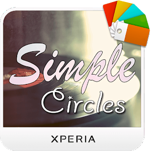 Xperia™ Theme - Simple Circle