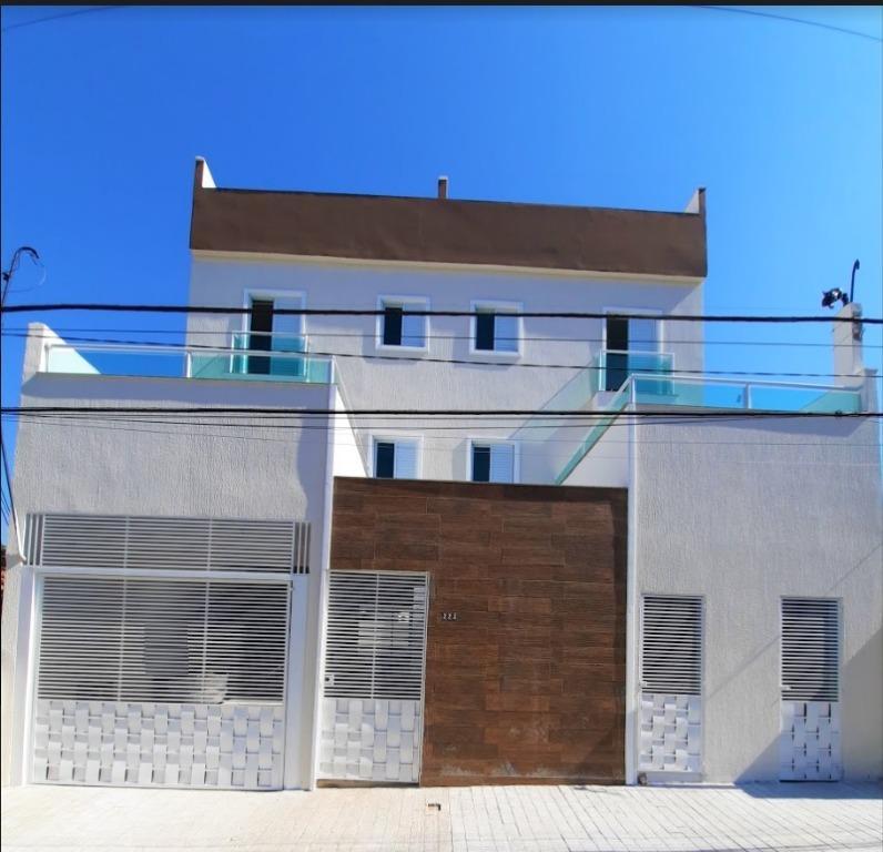 Vila Santo Antonio Apartamento Vila Alto de Santo André, Santo André (ap1742)