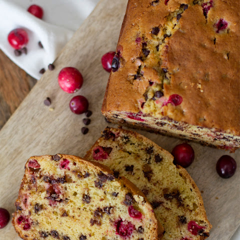 Cranberry Orange Chocolate Chip Bread