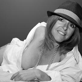 A Little Black & White fun ! by Ron Bettini - Nudes & Boudoir Boudoir