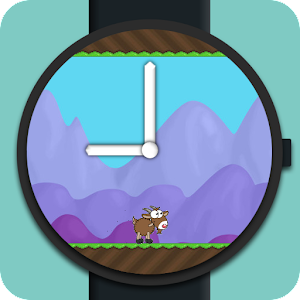 GameOn Watch Face – tell time & play Flappy Bird style game
