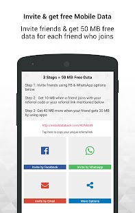 Data Recharge & Data Saver APK for Sony