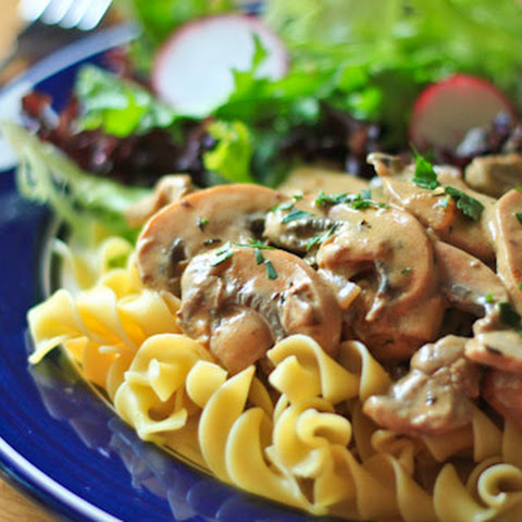 Affordable Beef Stroganoff