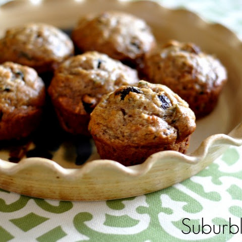 Zucchini Banana Muffins (Vegan-friendly!)