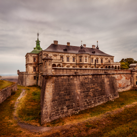 Sharp edge by Eugene Shutoff - Buildings & Architecture Public & Historical ( old, gothic, mystery, ghost, house, haunted, historic, aged, fortress, dark, dirty, scary, creepy, building, mansion, spooky, witchcraft, toned, history, magic, ukraine, nightmare, cloud, castle, palace, horror, abandoned, fear )