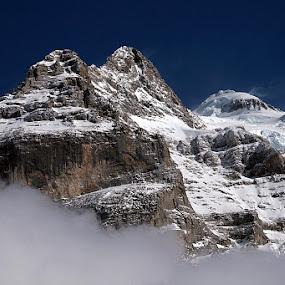 First snow by Michael Schwartz - Landscapes Mountains & Hills