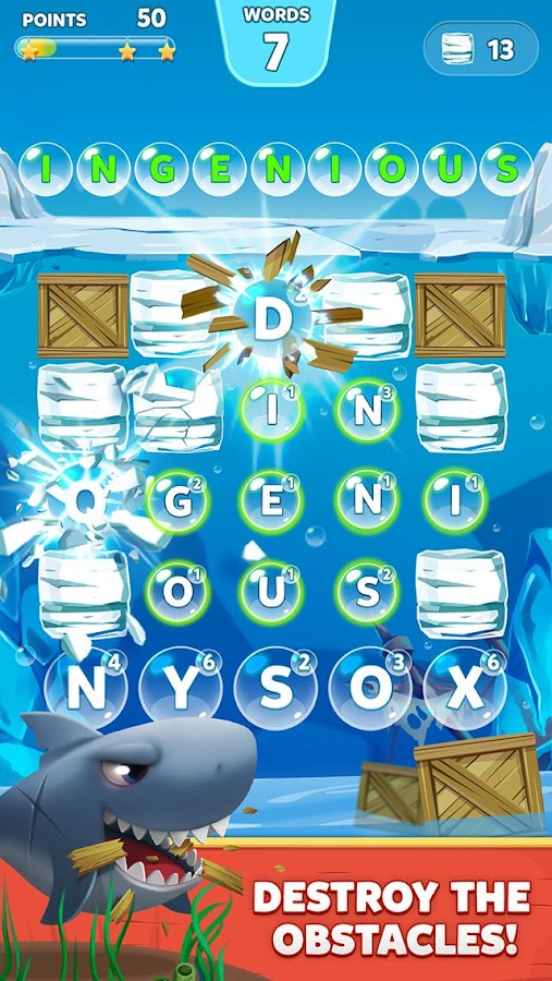 Bubble Words - Letter Splash Screenshot 2